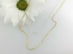 9ct Gold & Silver Diamond set Honey Bee & Diamond set Flower Necklace.  Handmade by Jeffs Jewellers