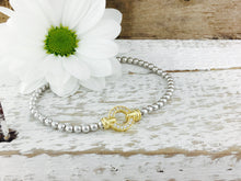 Load image into Gallery viewer, Set of 3, Designer Pave Set Circle Bracelet. Part of the Exquisite collection.