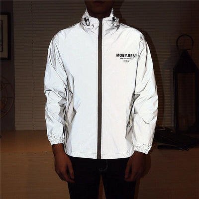 veste homme reflective motif up