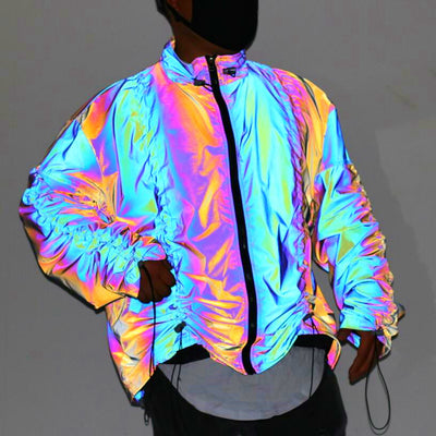 veste reflective multicolore