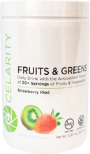 Load image into Gallery viewer, Celarity Power + Fruits and Greens Powder Strawberry