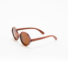 Load image into Gallery viewer, Fabrix Wooden Sunglasses - CLAYTON on Rosewood Perspective