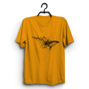 Fabrix Apparel Free Whale Orange