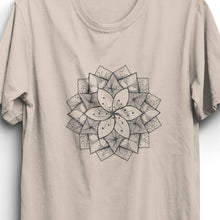 Load image into Gallery viewer, Lotus Unisex T-Shirt - Cream