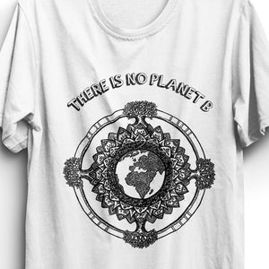 Fabrix Apparel No Planet B White Zoom