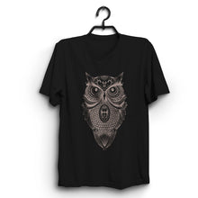 Load image into Gallery viewer, Fabrix Apparel Owl T-Shirt Black