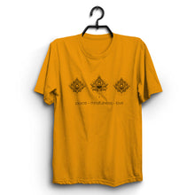 Load image into Gallery viewer, Fabrix Apparel Peace Mindfulness Love Orange
