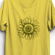 Load image into Gallery viewer, Sunflower Unisex T-Shirt - Yellow