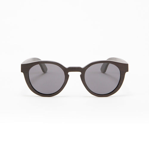 Fabrix Wooden Sunglasses - GRACE on Ebony Front