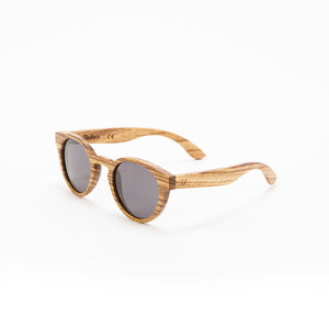 Fabrix Wooden Sunglasses - GRACE on Zebra Perspective