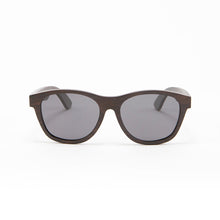 Load image into Gallery viewer, Fabrix Wooden Sunglasses - JARVIS on Ebony Front