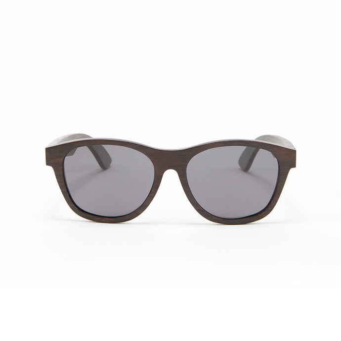 Fabrix Wooden Sunglasses - JARVIS on Ebony Front