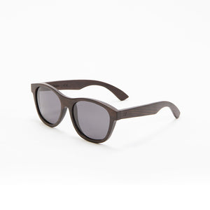 Fabrix Wooden Sunglasses - JARVIS on Ebony Perspective