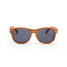Load image into Gallery viewer, Fabrix Wooden Sunglasses - JARVIS on Oak Front
