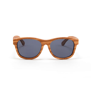 Fabrix Wooden Sunglasses - JARVIS on Oak Front