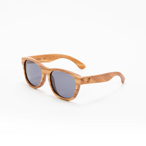 Fabrix Wooden Sunglasses - JARVIS on Oak Perspective