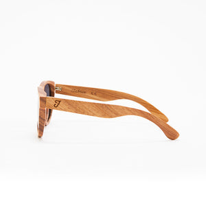 Fabrix Wooden Sunglasses - JARVIS on Oak Side
