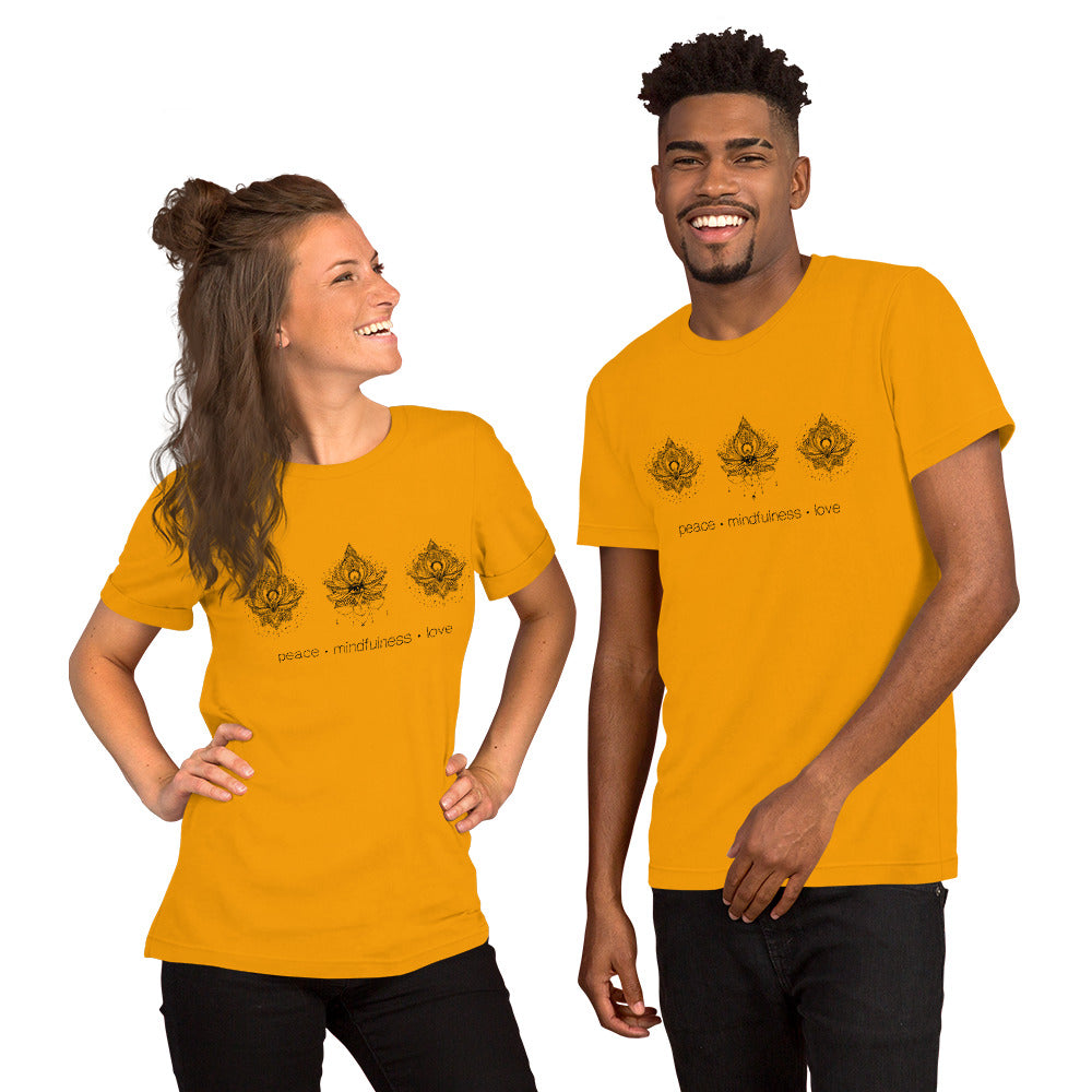 Fabrix Apparel Peace Mindfulness Love Orange Couple