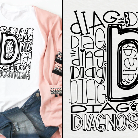 Diagnostician Typography