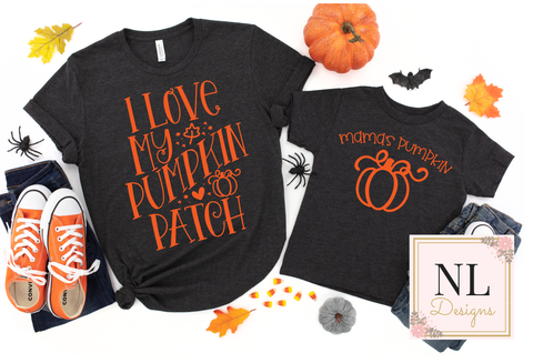 I Love my Pumpkin Patch Mommy & Me - Adult