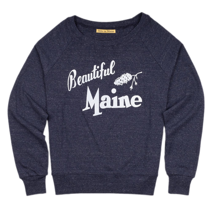 Beautiful Maine Raglan Tee