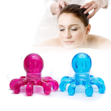 Anti-stress Tens Pain Relief Octopus Head Scalp