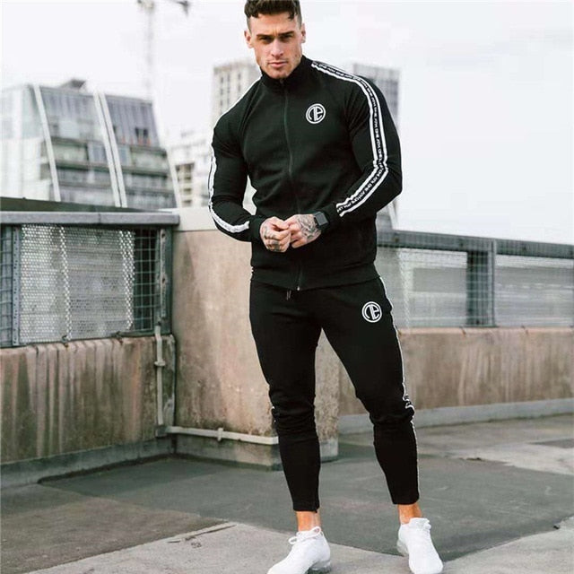 Gym Fitness Running Tracksuit