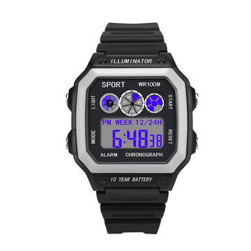 Fashion Men Sport Watches LED