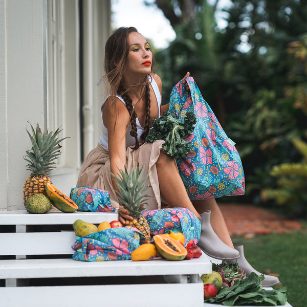 Jana Lam Baggu Hawaii Reusable Bag Packing Cubes Fashion Accessories Honolulu