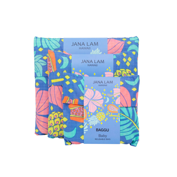 Jana Lam Baggu Hawaii Reusable Bag Shopping Bag Grocery Fashion Accessories Honolulu