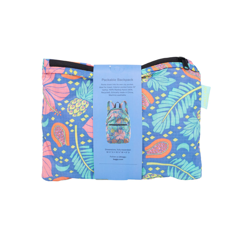 Jana Lam Baggu Hawaii Reusable Bag Shopping Bag Packable Backpack Travel Hike Fashion Accessories Honolulu