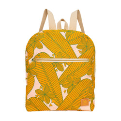 Backpack • Plumeria • Golden Mango • Made-to-Order
