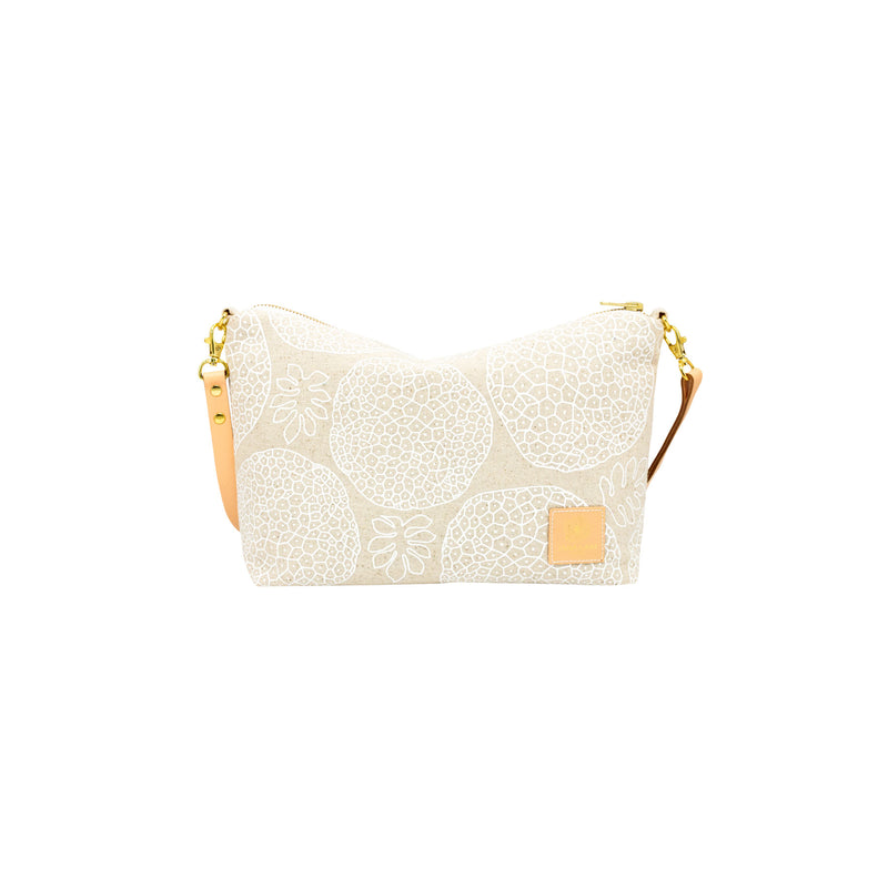 Mini Slouchy Cross Body • Ulu • White Collection