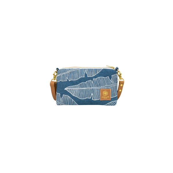 Mini Slim Zipper Cross Body • Denim Collection