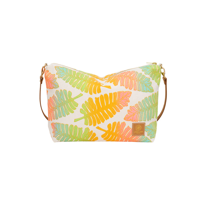 Slouchy Cross Body • Native 'Ae • Gold over Rainbow Ombre
