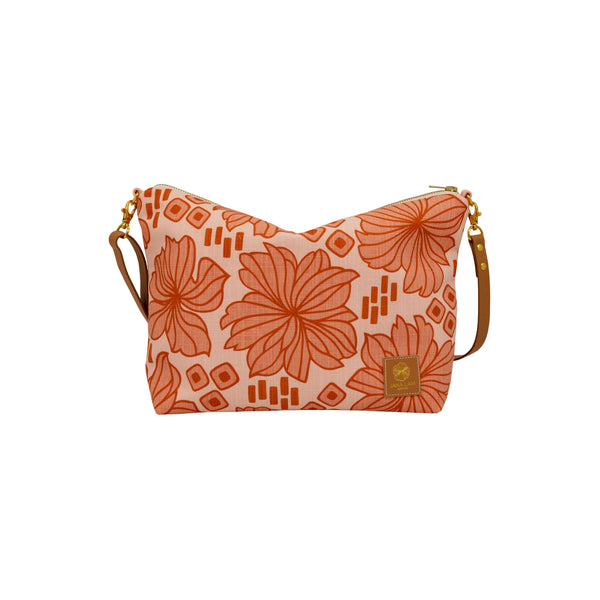 Slouchy Cross Body • Retro Blooms