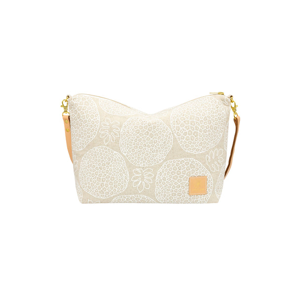 Slouchy Cross Body • Ulu • White Collection