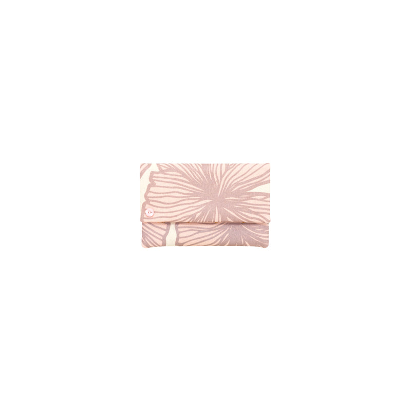 Petite Envelope Clutch • Seaflower • Metallic Mauve over Soft Pink