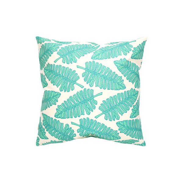 Pillow Cover • Native 'Ae • Teal over Turquoise