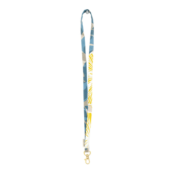 Lanyard • Blue and Yellow