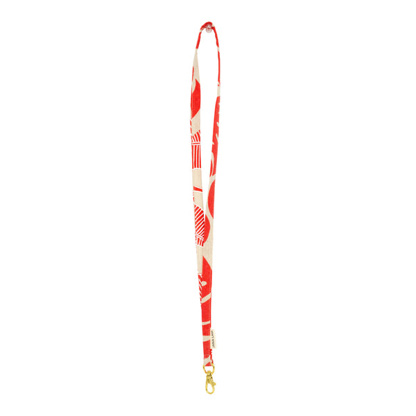 Lanyard • Red and White
