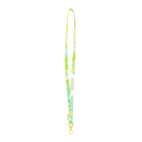 Lanyard • Lime Green and Ocean