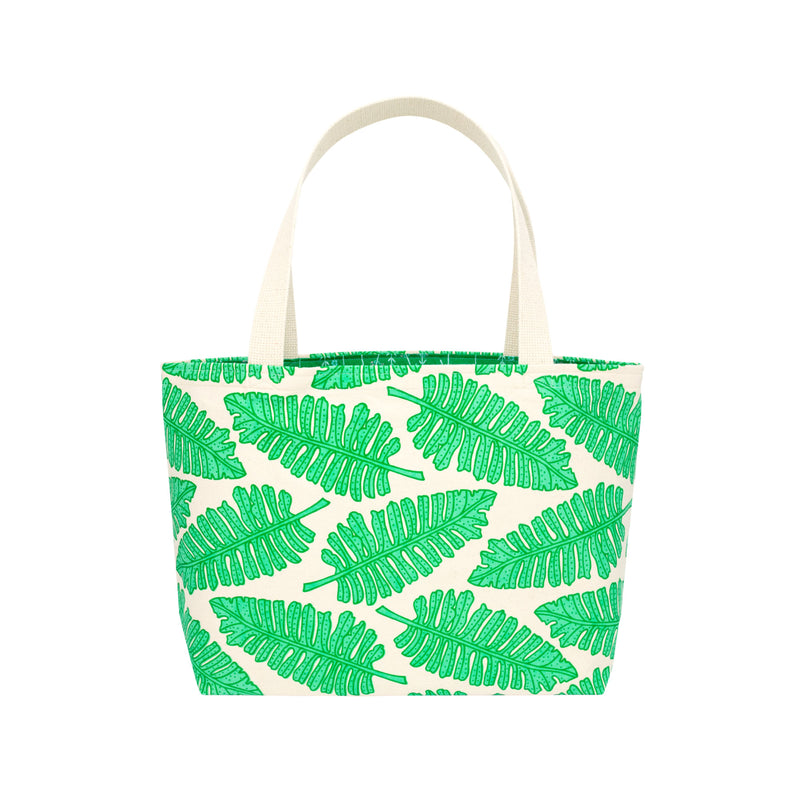 Beach Bag Tote • Native 'Ae • Green over Aqua