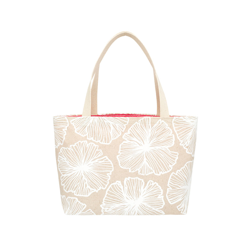 Beach Bag Tote • Seaflower • White Collection
