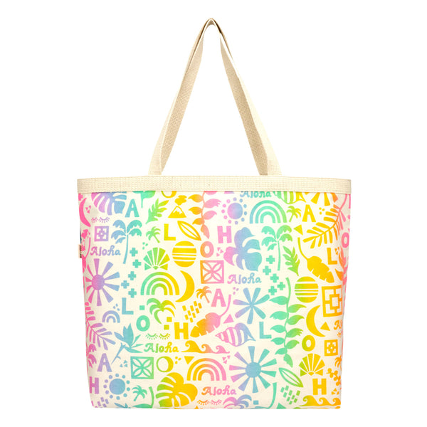 Shopper's Tote • Rainbow Block Party