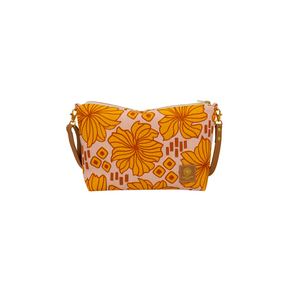 Mini Slouchy Cross Body • Retro Blooms