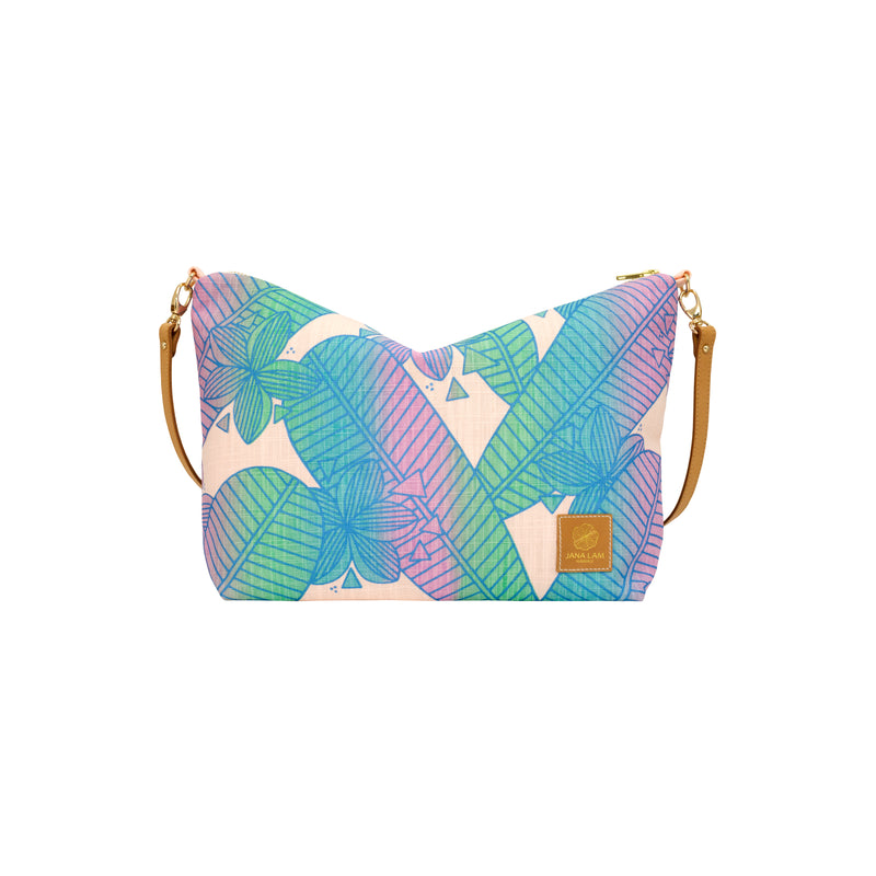 Slouchy Cross Body • Plumeria