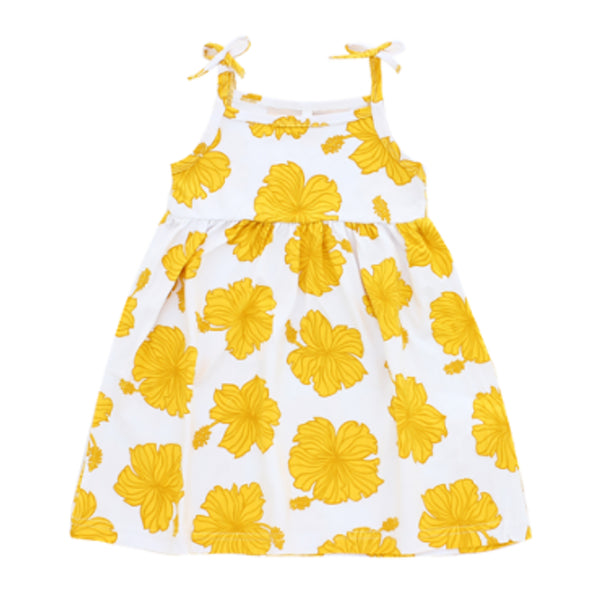 Toddler Dress • Golden Hibiscus • Coco Moon + Jana Lam
