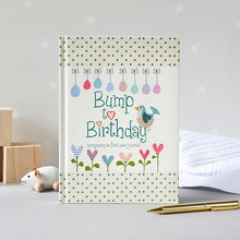 Load image into Gallery viewer, Bump To Birthday Pregnancy Journal