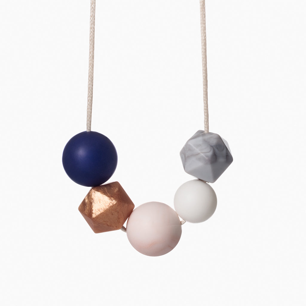 Teething Necklace Galactic Punch